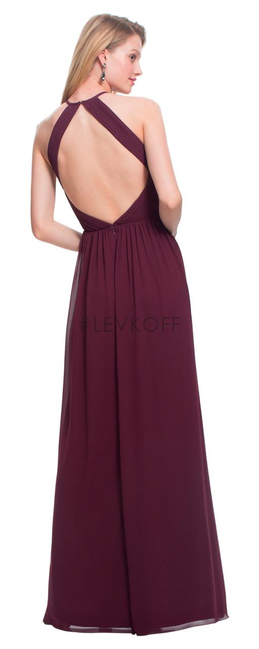3c51699d75d  LEVKOFF - Bill Levkoff Bridesmaid Dress Style 7023 - Chiffon