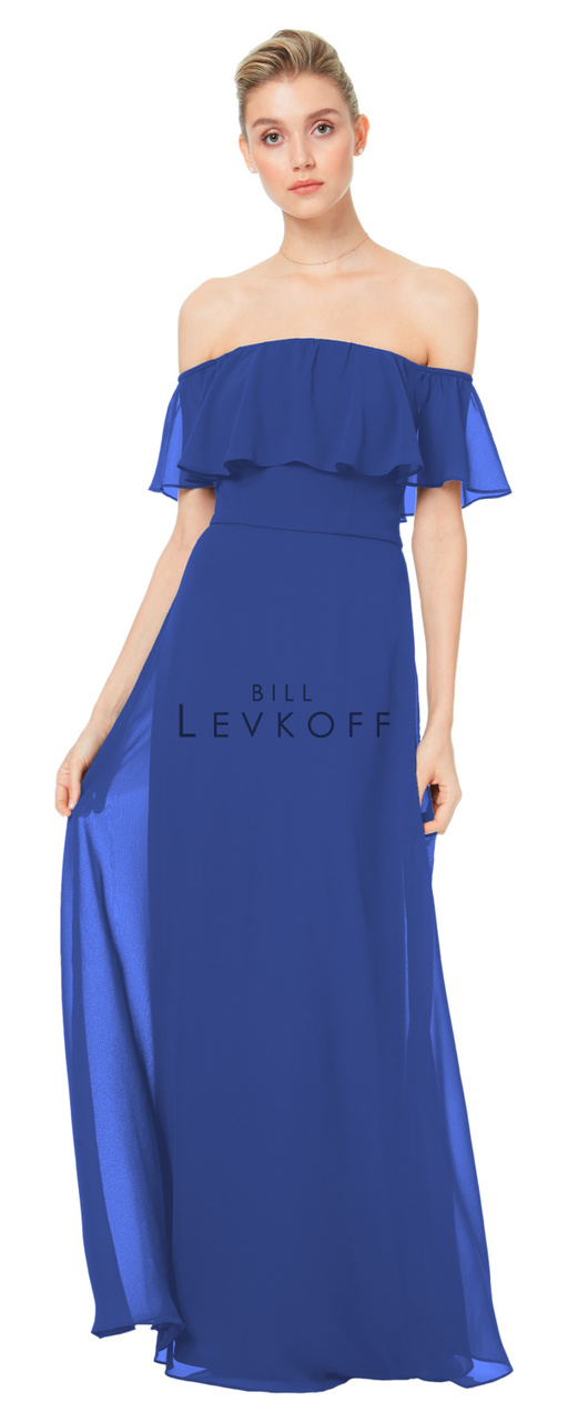 4e01391cfcbd4 Designer Bill Levkoff Bridesmaid Dress Style 1500 - Chiffon Dress