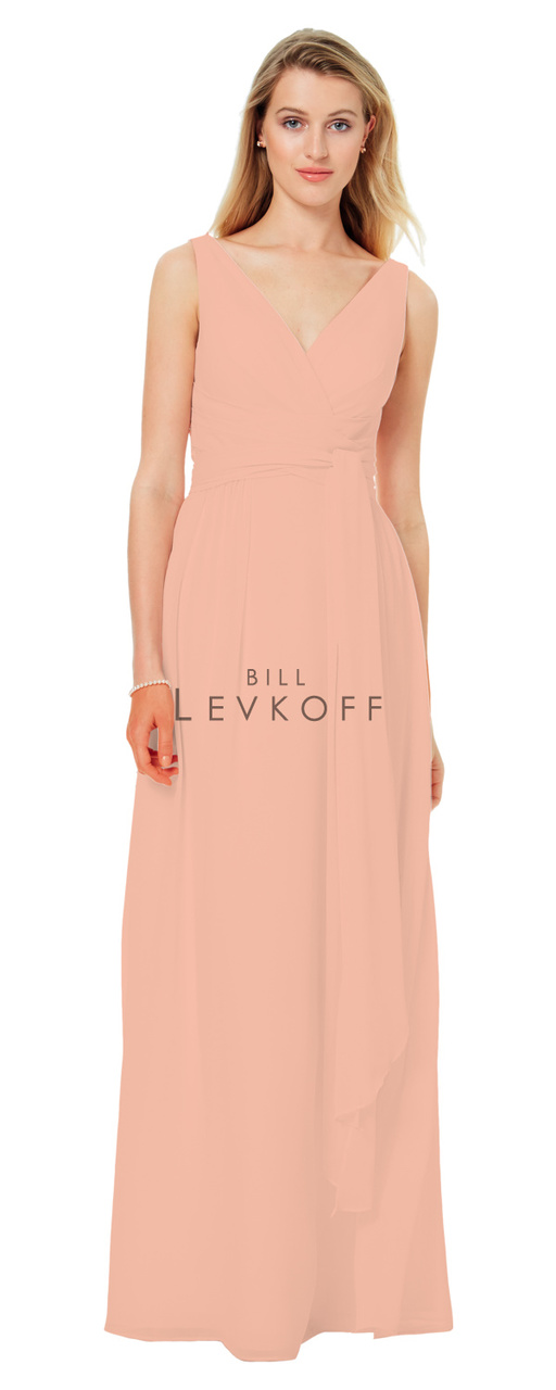ffbfb2a3cfc9b Designer Bill Levkoff Bridesmaid Dress Style 1502 - Chiffon Dress