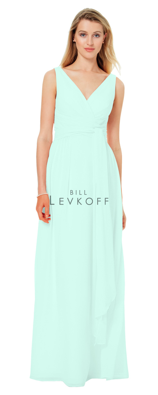 4ec1e6b17f7 Designer Bill Levkoff Bridesmaid Dress Style 1502 - Chiffon Dress