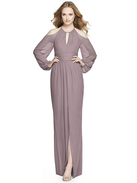 3630313fb20 Dessy Bridesmaid Dress 3018 - Lux Chiffon. Tap to expand