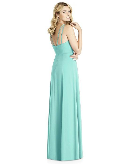 8934fd0db88 Social Bridesmaids Dress Style 8187 - Matte Chiffon