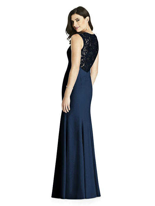c4a7ab4d89 Dessy Bridesmaids Dress Style 3015 - Midnight - Crepe - In Stock Dress