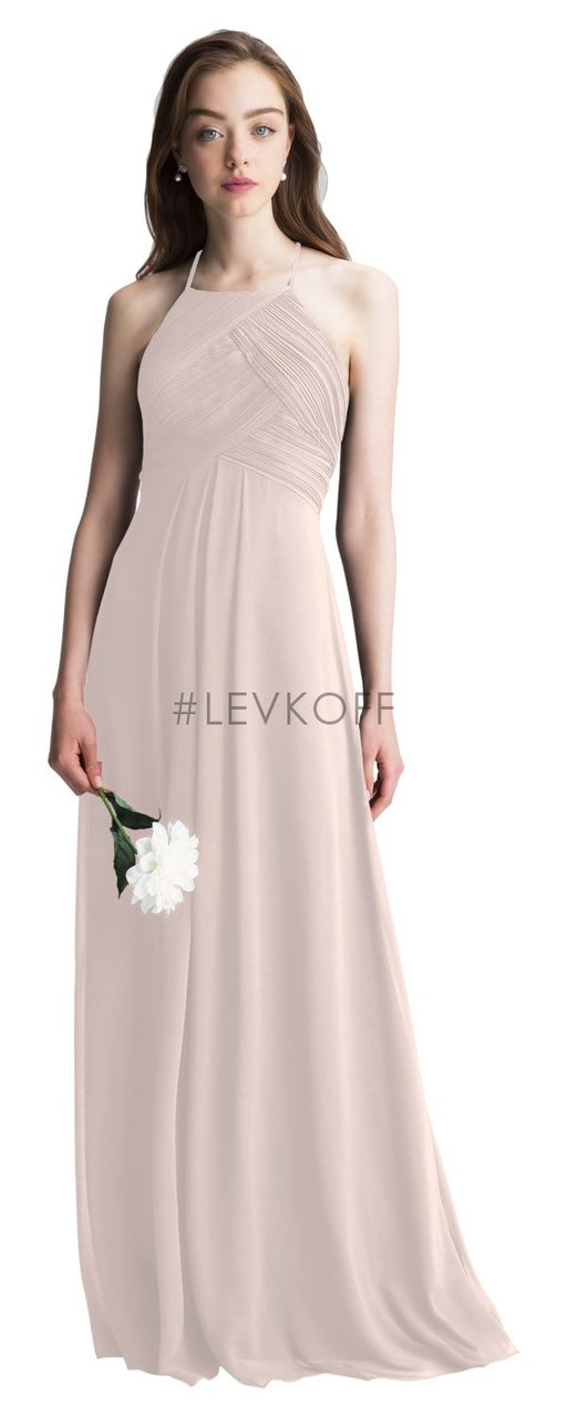 8e4307287da LEVKOFF Bridesmaid Dress Style 7001 - Petal Pink - Chiffon - In Stock ...