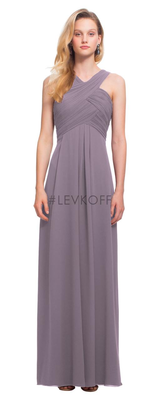 88de4ac44f2  LEVKOFF Bridesmaid Dress Style 7016 - Heather - Chiffon - In Stock ...