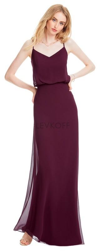 d61d2fd0168 Tap to expand.  LEVKOFF - Bill Levkoff Bridesmaid Dress Style 7058 - Chiffon