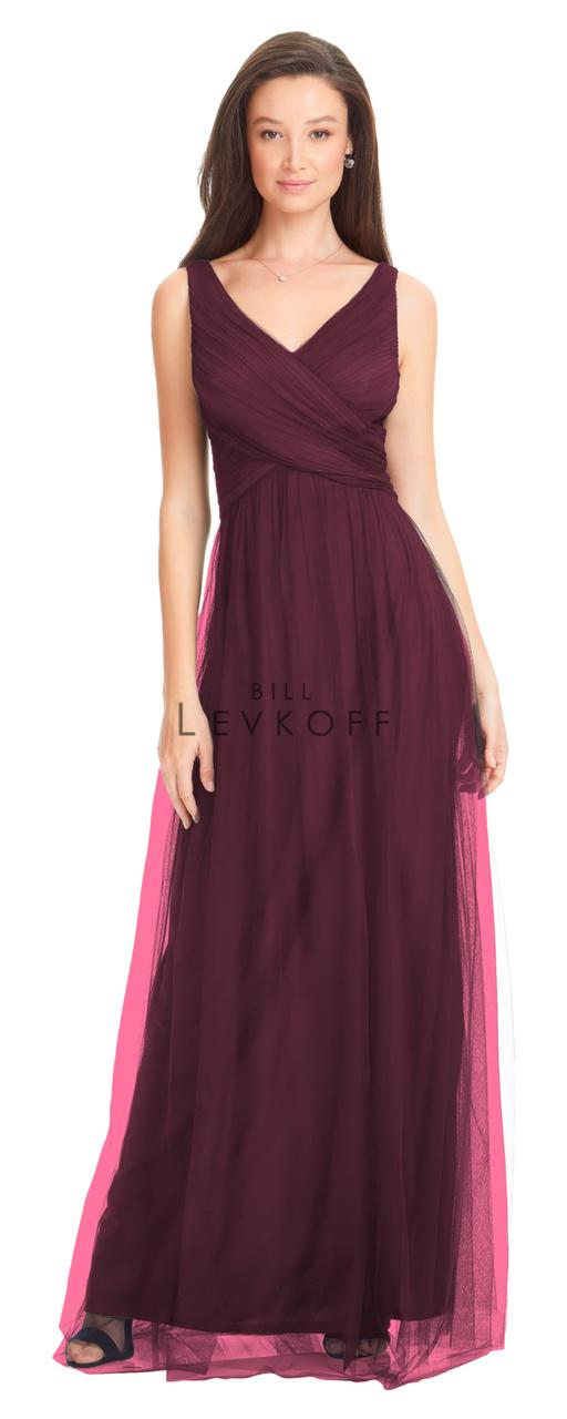 9fa203fa5b Designer Bill Levkoff Bridesmaid Dress Style 1556 - English Netting