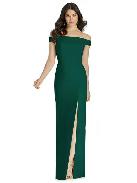 822d7815b7 Dessy Bridesmaid Dress 3040 - Crepe
