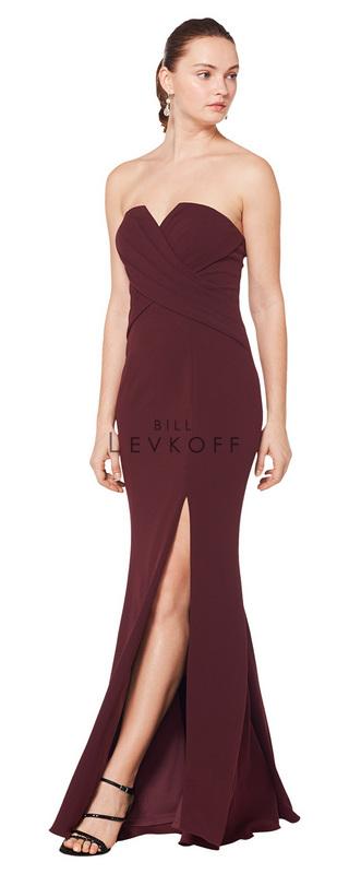 c334259049e Designer Bill Levkoff Bridesmaid Dress Style 1619 - Stretch Crepe