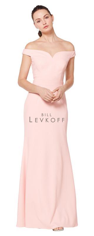 a5c4f1d470 Designer Bill Levkoff Bridesmaid Dress Style 1621 - Stretch Crepe