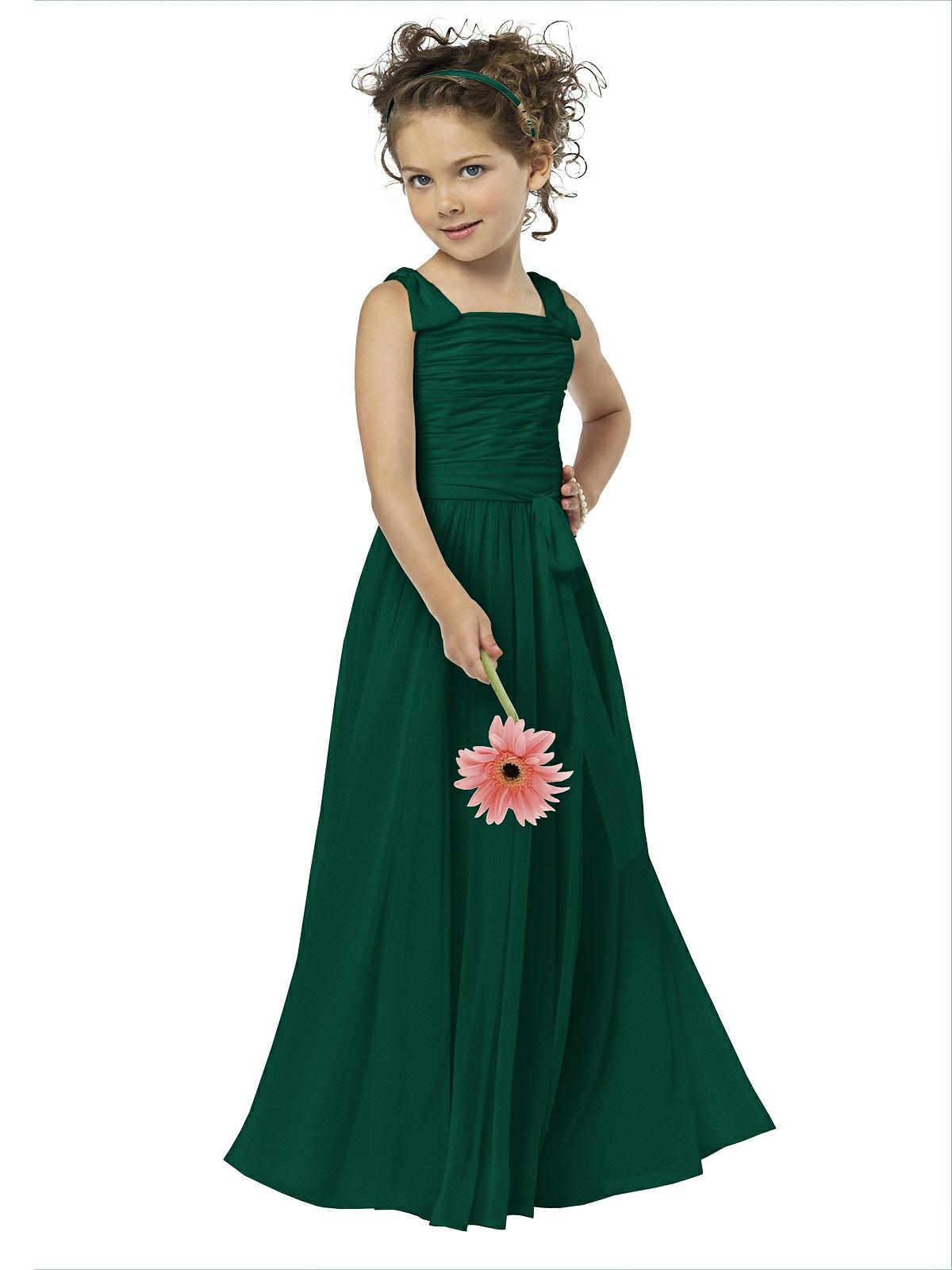 99a117a6948 Dessy Flower Girl Shimmer Dress FL4033LS - Lux Shimmer