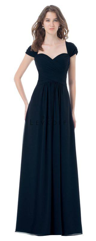 bbbd61c0a0 Designer Bill Levkoff Bridesmaid Dress Style 496 - Chiffon Dress