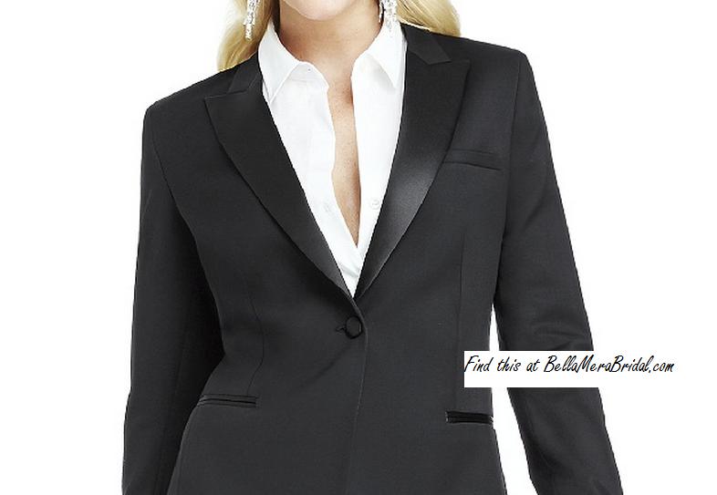 ba5e18c723c Rizty After Six Marlowe Women's Fine Tuxedo Jacket - Bridesmaids ...