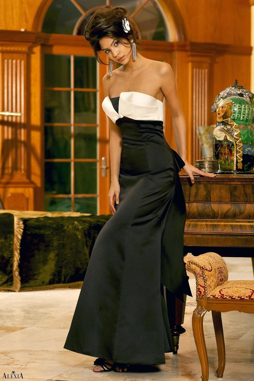 27444e98511 Alexia Designs Floor Length - Dress -4058 - Satin strapless