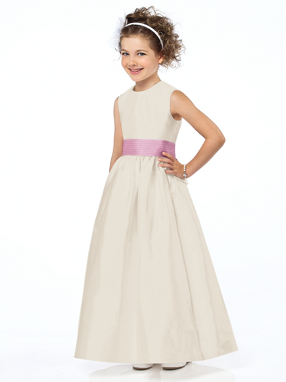 739f576645 Dessy Flower Girl Dress FL4032
