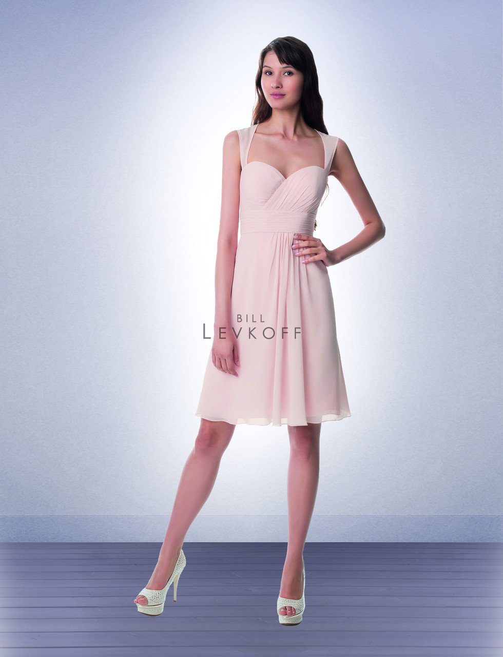 3e01c8b041915 Designer Bill Levkoff Bridesmaid Dress Style 973 - Chiffon Dress