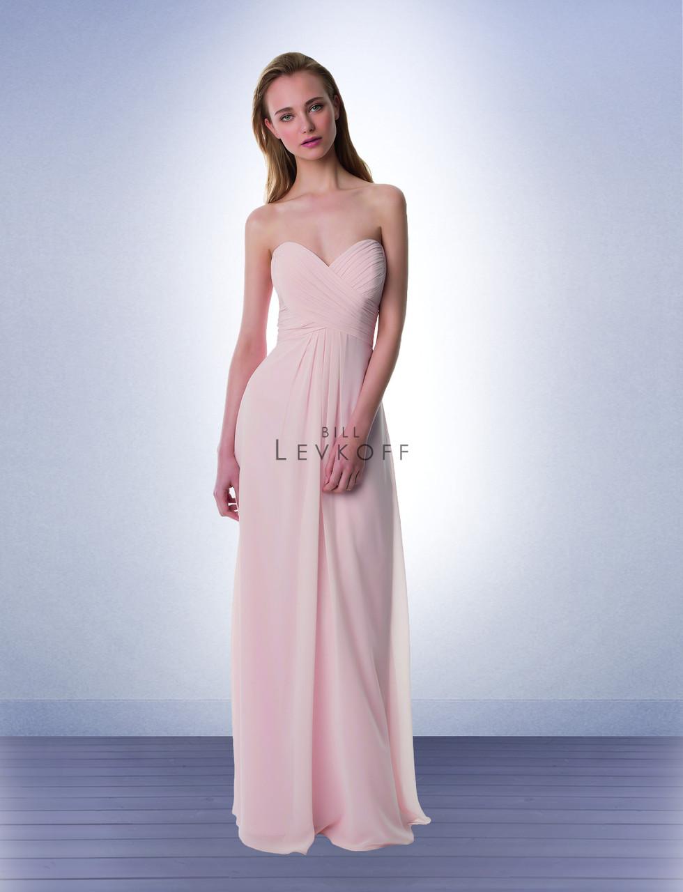fa4af14ef98 Designer Bill Levkoff Bridesmaid Dress Style 976 - Chiffon Dress
