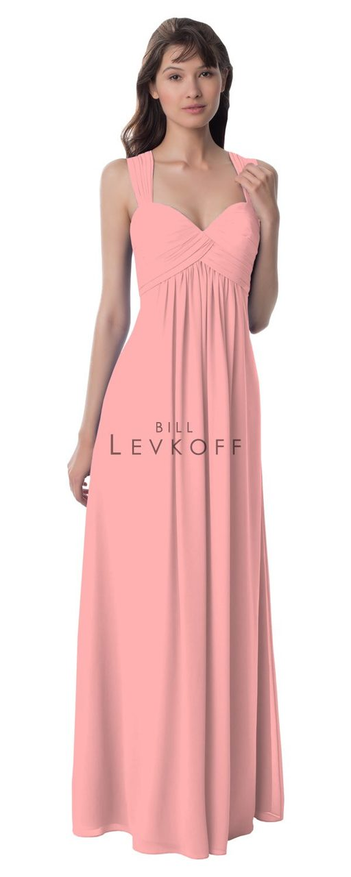 34e6e3f26899 Designer Bill Levkoff Bridesmaid Dress Style 984 - Chiffon Dress