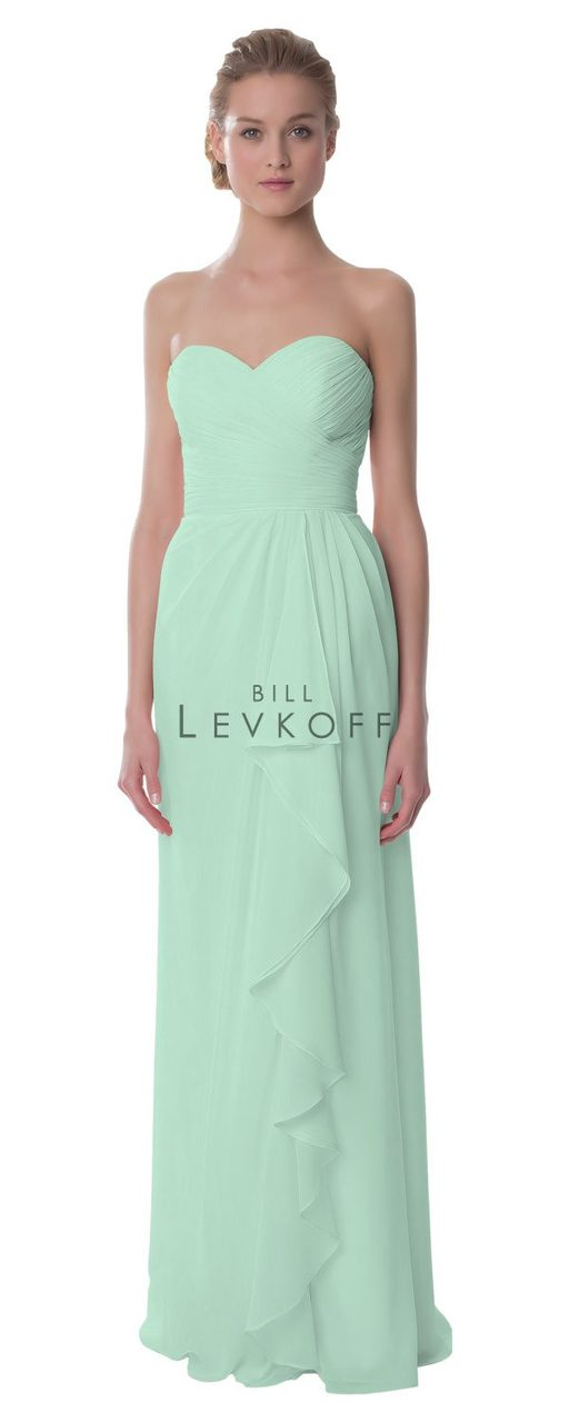 5ff197eff3132 Designer Bill Levkoff Bridesmaid Dress Style 987 - Chiffon Dress