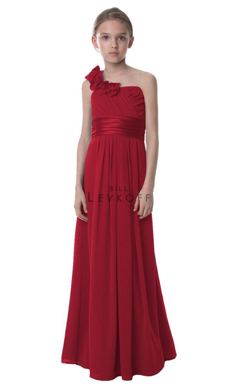 9789ef3027 Bill Levkoff Junior Bridesmaid Dress Style 33402 - Chiffon