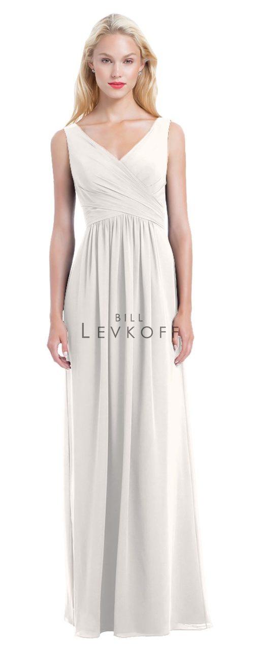 be81f6a3c021 Designer Bill Levkoff Bridesmaid Dress Style 1162 - Chiffon Dress
