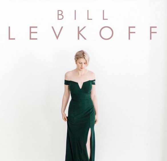 Bill Levkoff Crepe Evergreen Bridesmaids Dresses