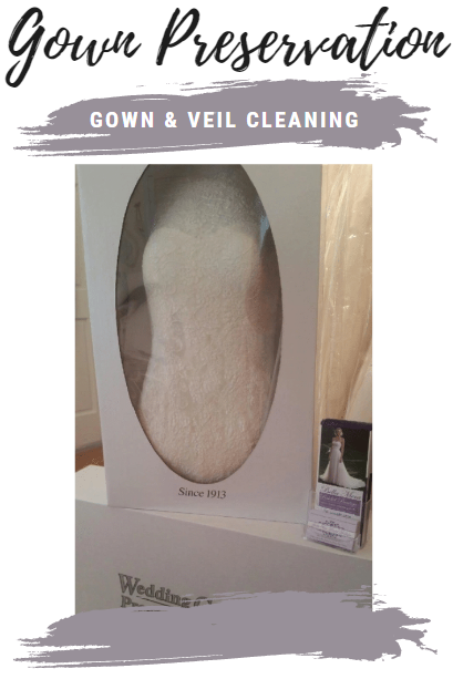 Gown Cleaning. Gown Preservation. Veil Preservation. - We got you covered!