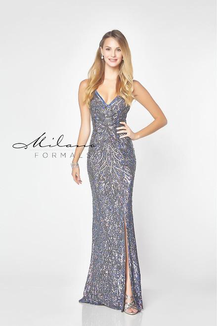 c65a04f96e275 Milano Formals E2788 - Formal Wear Dress - Sequins | Prom Dresses 2019