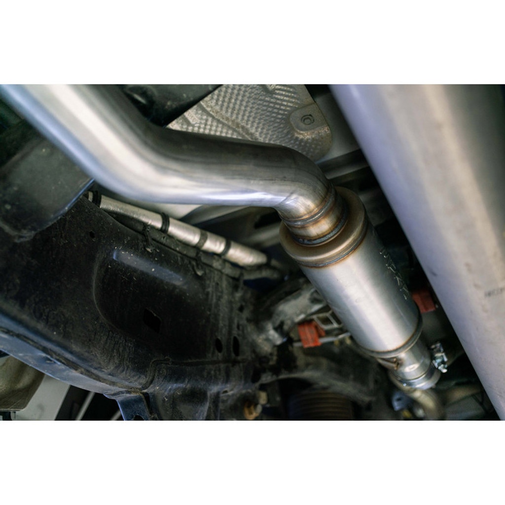 """3"""" Single in/out Muffler Replacement, High Flow, T409, RAM 1500, 5.7L Hemi 2019- 2020"""
