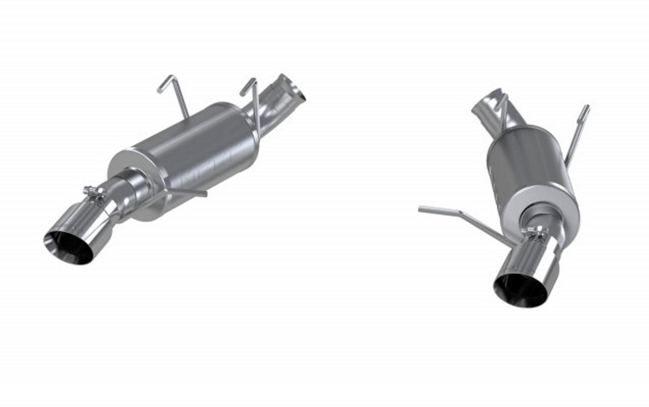 Aluminized Steel Dual Split Rear Exit Exhaust System MBRP S7264AL 3 Cat Back