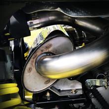Single Slip-on Muffler 2019-20 Can-Am Maverick Sport 1000R - Carbon Fiber Tip