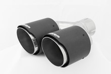 """Tip, Carbon Fiber Tip; 2.5"""" inlet, Dual 4"""" OD Out dual wall"""