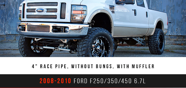 "New 4"" Race Pipe 