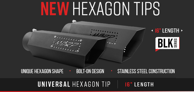 "New Hexagon Tips | Universal 16"" Tip"