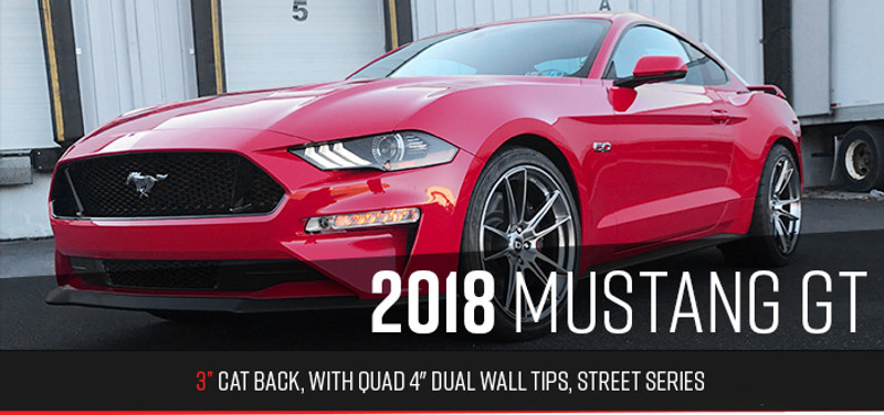 New Cat Back Quads | Ford Mustang GT 2018+