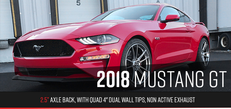 New Quad Exhaust | Ford Mustang GT 2018+