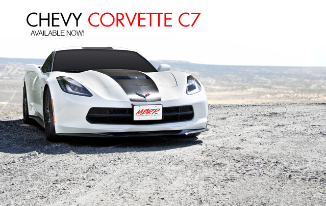 Chevy Corvette C7 Exhaust Systems
