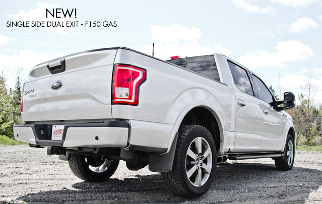 Ford F150 2017 Exhaust