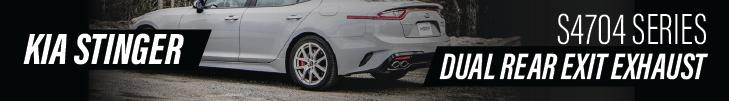 2019 Kia Stinger Exhaust