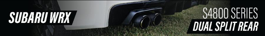 2020 Subaru WRX Dual Exhaust