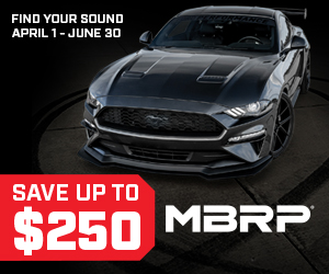 FORD MUSTANG EXHAUST SALE