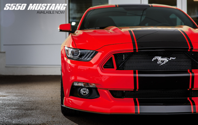 Ford 2015 Mustang Exhaust