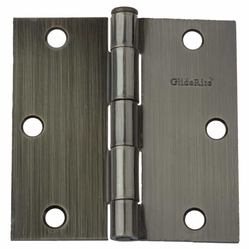 3-1/2 Inch Door Hinge Square Corners - 3500