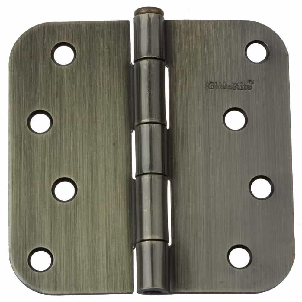4 Inch Door Hinge 5/8 Corner Radius - 4058