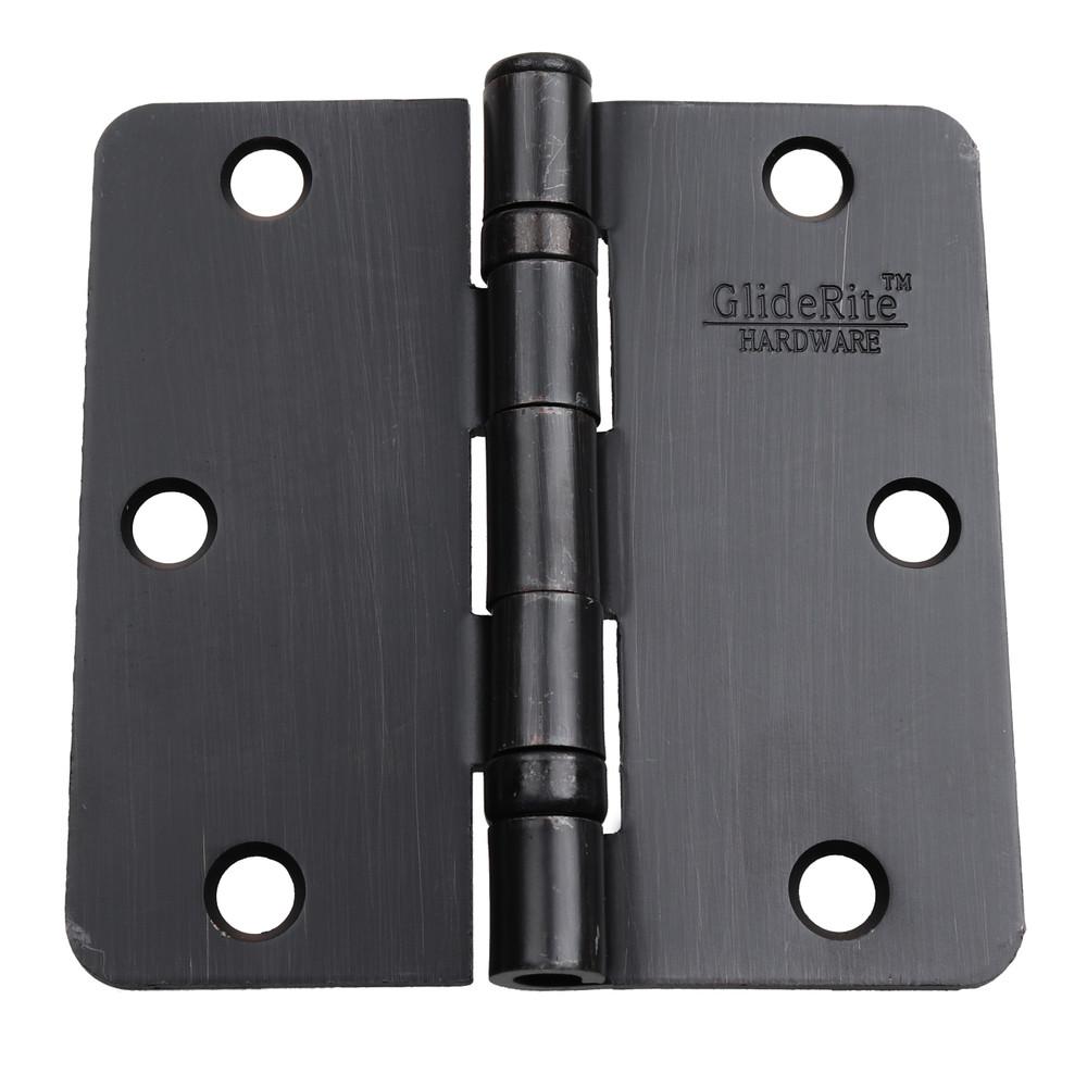 3-1/2 Inch Ball-Bearing Door Hinge 1/4 Inch Corner Radius - 3514-2BB
