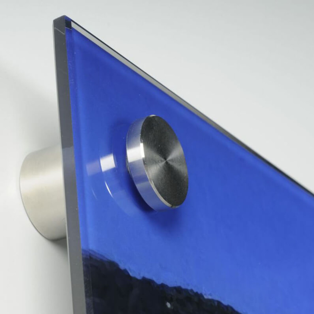 1 Inch Diameter x 1-1/2 Inch Length Stainless Steel Standoff for Glass Signs - 3248-BSS