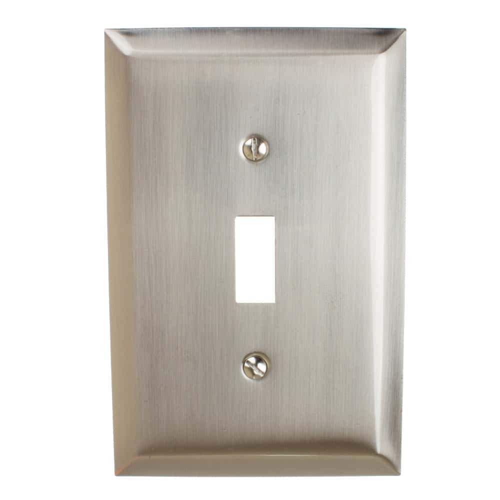 Single Light Switch Cover 1 Gang Toggle Wall Plate - 200T