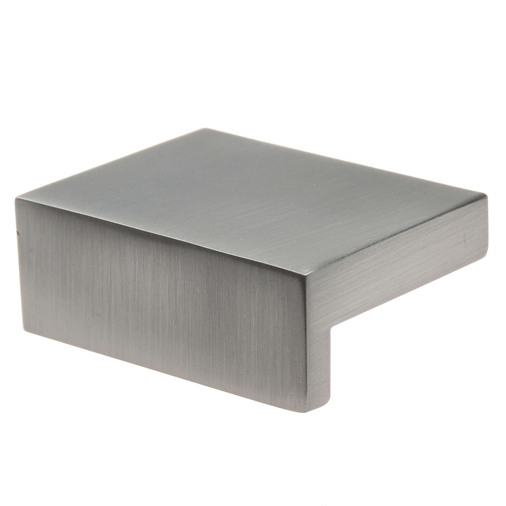 1-1/2 in. Modern Rectangular Dresser Drawer Finger Pull Knob - 4793