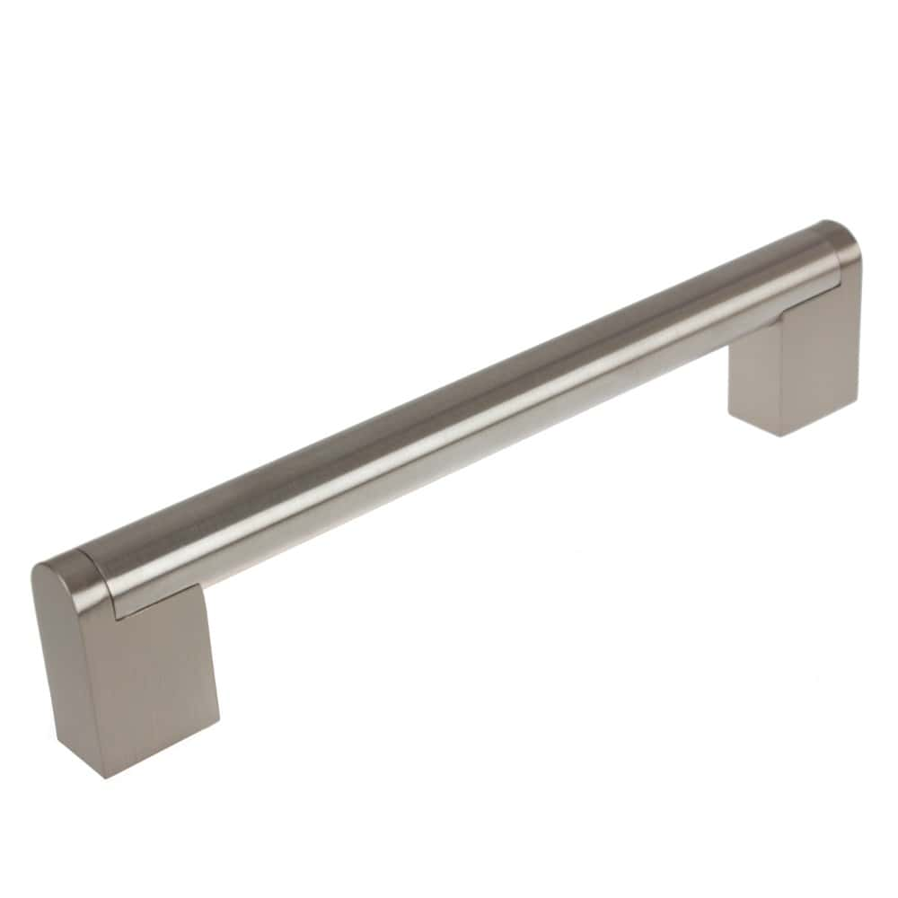6 1 4 Inch Center To Center Stainless Steel Round Cross Bar Pull Cabinet Hardware Handle 52003 160 Gliderite Hardware