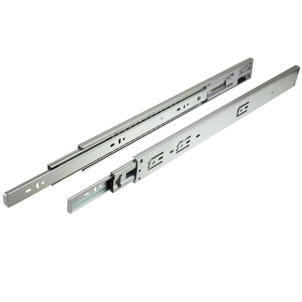 Zinc Drawer Slide Heavy Duty 22 in. Full Extension 500 lb Capacity